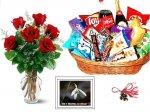 Martisor, Trandafiri si Cos Cadou
